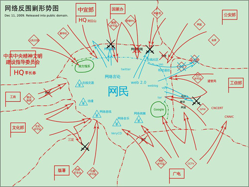 Chinese Internet Topography