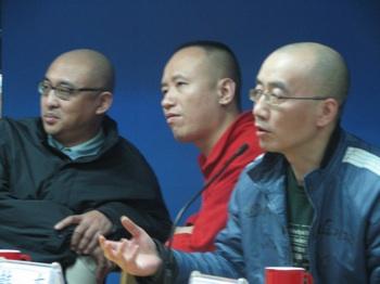 Mou Sen, Zhu Wen, Han Dong