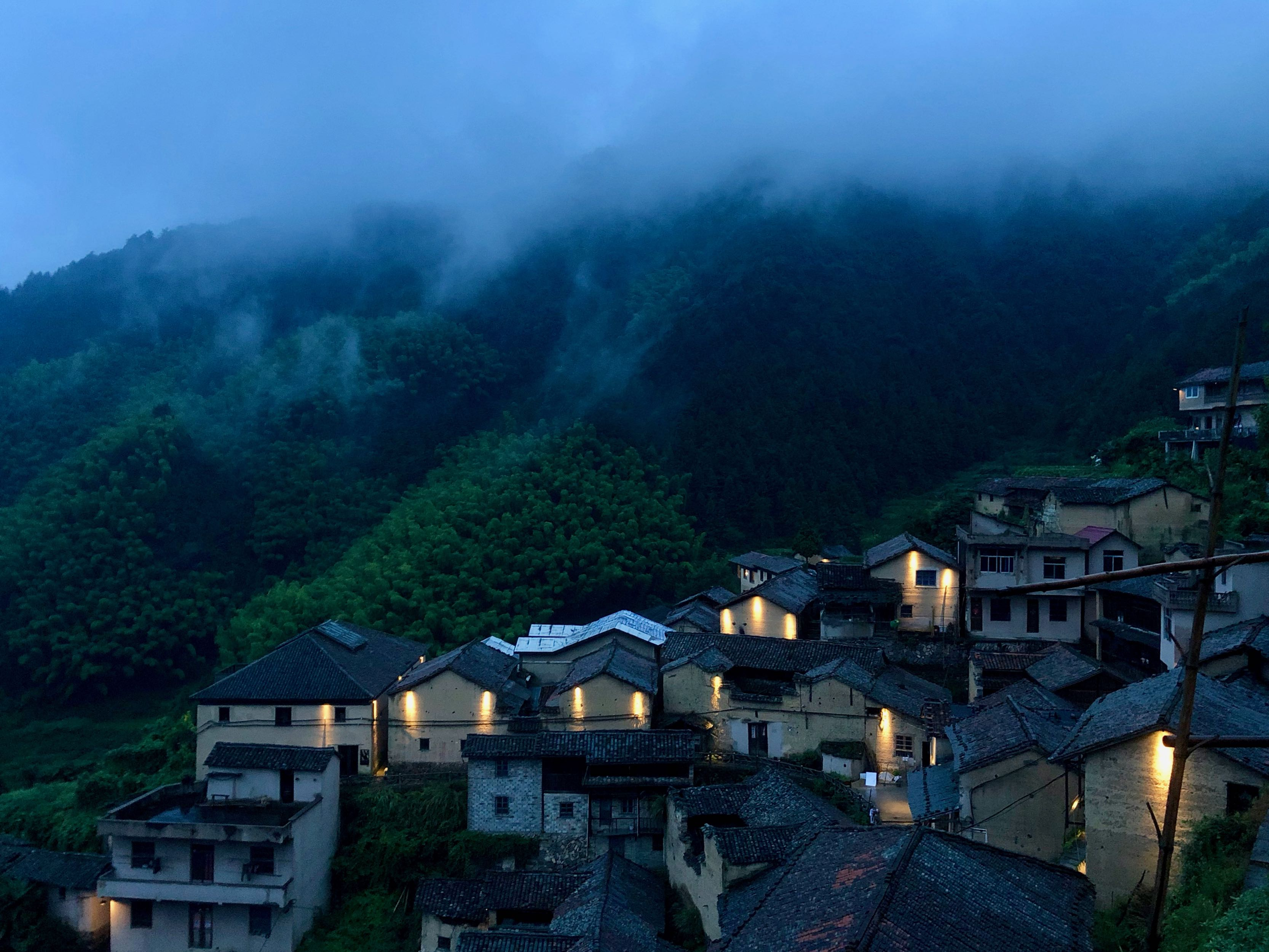 Night in Chenjiapu