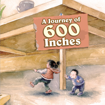 A Journey of 600 Inches cover